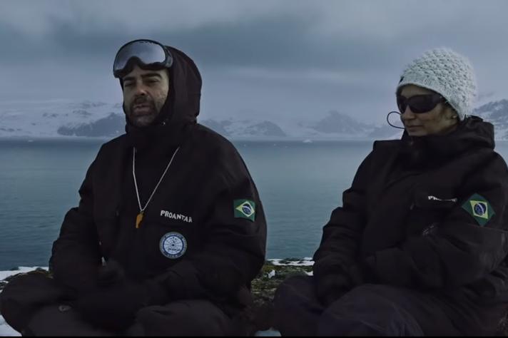 Documentário acompanha rotina de brasileiros na Antártica