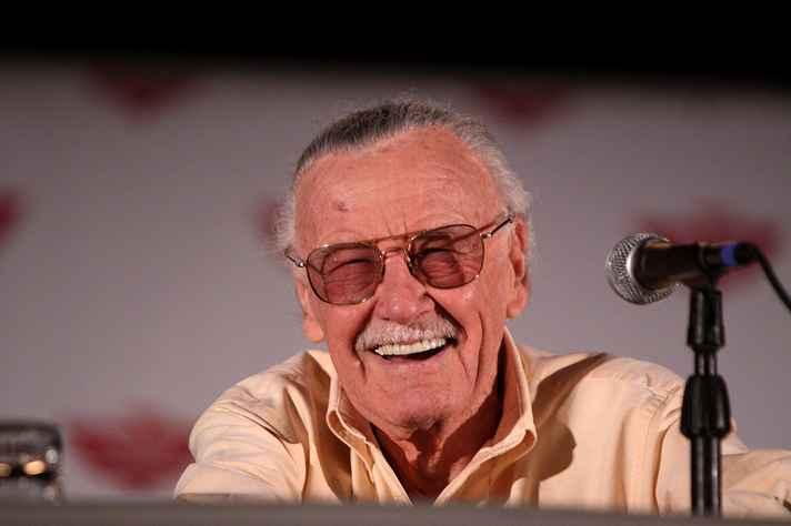 Stan Lee na Comicon de Phoenix, nos EUA, em 2014.