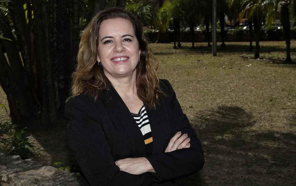 <p>Sandra Regina&nbsp;Goulart Almeida, reitora da UFMG</p>
