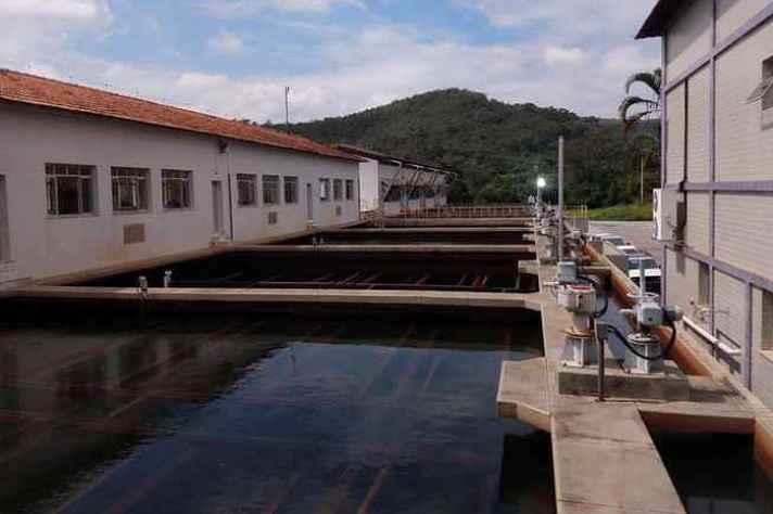 Estação da Copasa, uma das parceiras do projeto: