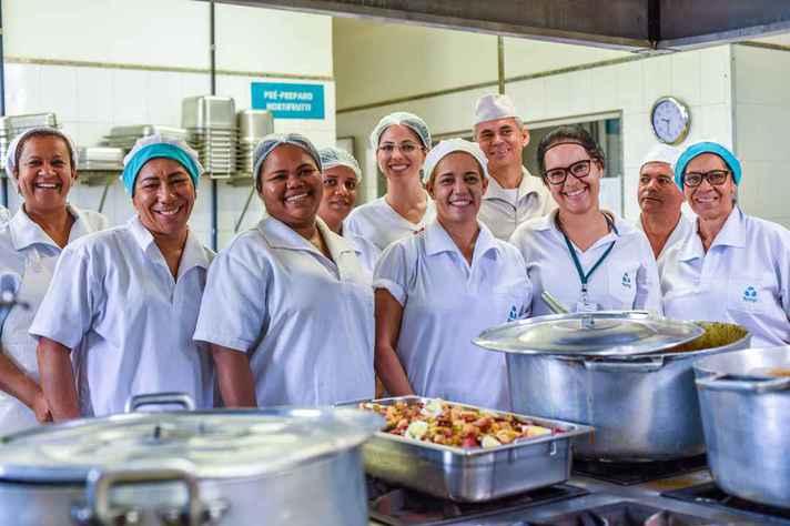 Equipe do Restaurante Universitário do ICA, em Montes Claros