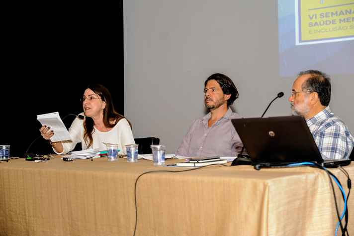 Márcia Rosa Luchina, Guilherme Massara Rocha e Miguel Mahfoud