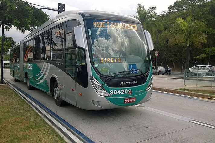 Ônibus do Move Metropolitano
