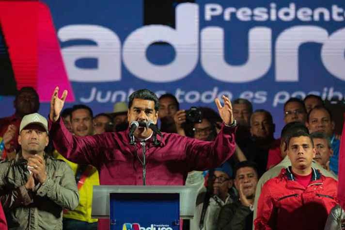 Nicolás Maduro discursa após resultado do pleito