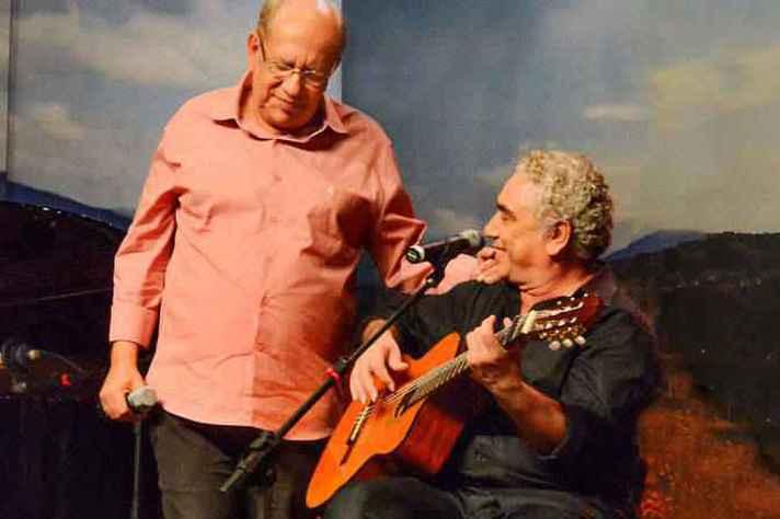 Saulo Laranjeira e Paulinho Pedra Azul apresentam o show A Arte do Encontro