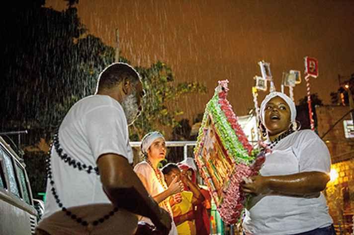 Manifestação da Irmandade dos Carolinos: título de patrimônio cultural não gera apoio material.