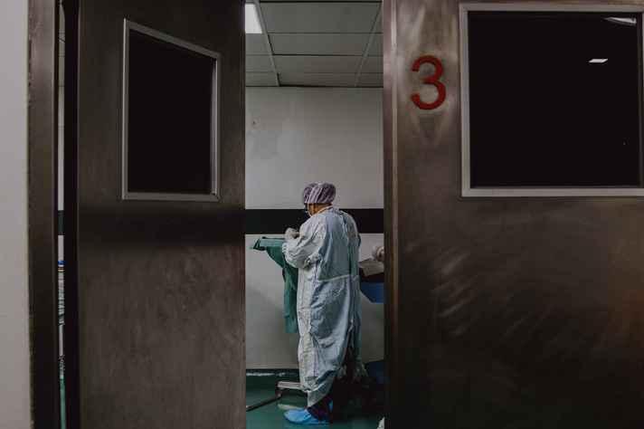 Segundo a primeira fase do relatório, 60% dos profissionais de saúde não se consideravam preparados para atuar em meio à pandemia