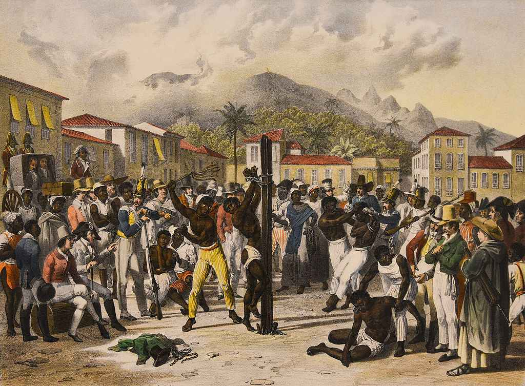 Castigo Público de Johann Moritz Rugendas (1835)