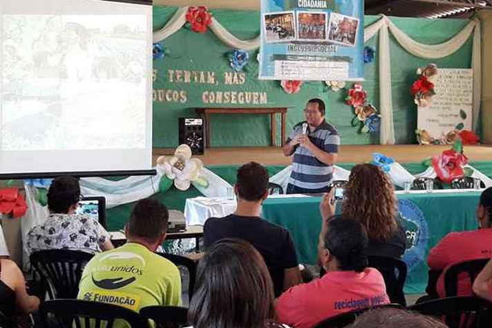 Projeto foi apresentado à comunidade de Esmeraldas