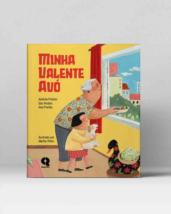 Livro traz ilustrações de Marilia Pirillo