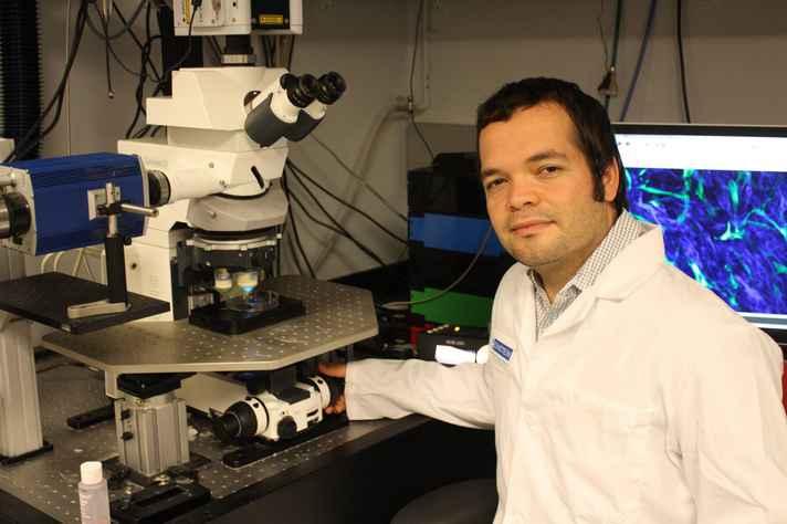 Alexander Birbrair chefia pesquisas sobre câncer no ICB