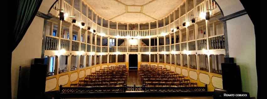 Interior do Teatro Municipal de Sabará