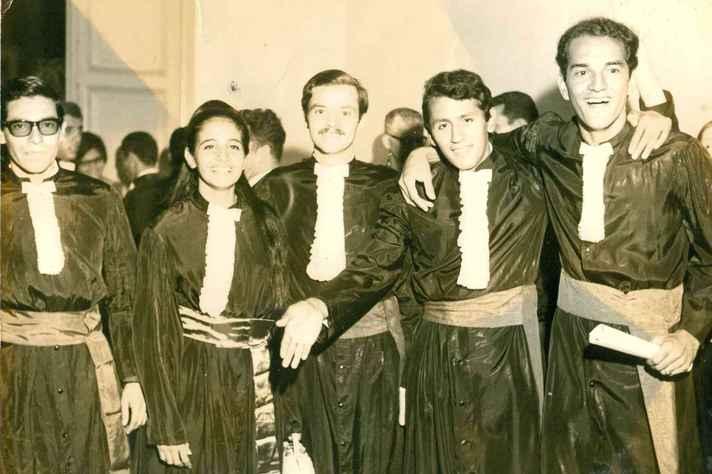 Colação de grau da turma de 1968