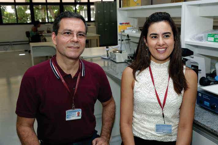 Ricardo e Carolina: testes com medicamentos para tratar células alteradas