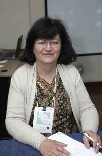 Maria Luisa Soux conduziu a mesa-redonda 'Fronteiras e migrações'
