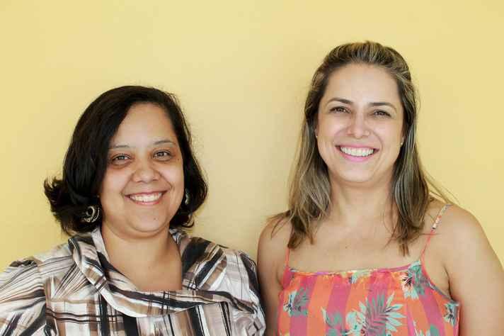Carla Vieira e Fernanda Almeida: indexação aumenta visibilidade dos periódicos