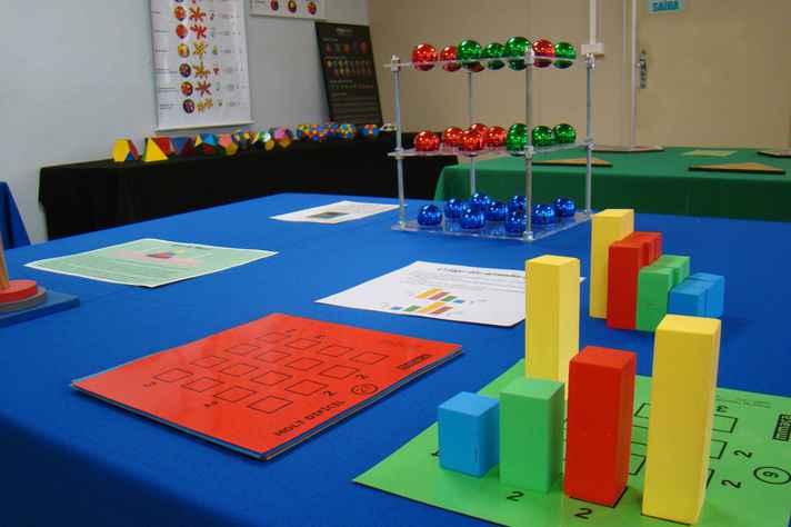 Acervo reúne material concreto para uso interativo de alunos e professores