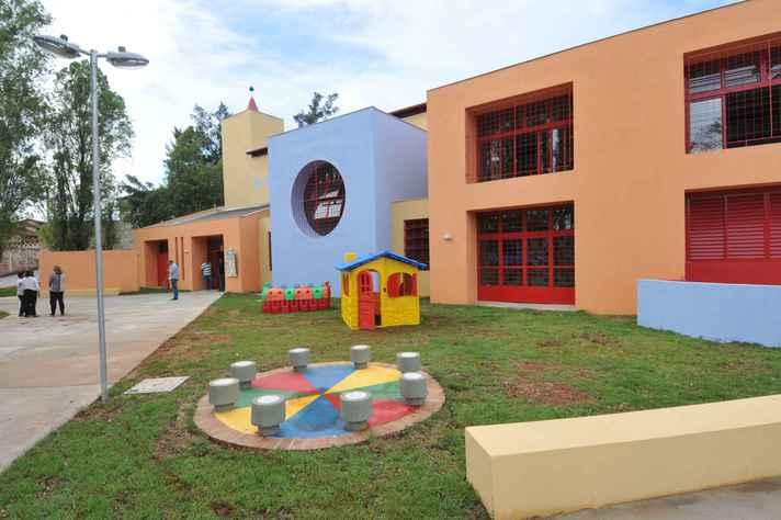Unidade Municipal de Educação Infantil (Umei) no bairro Lagoa em Venda Nova