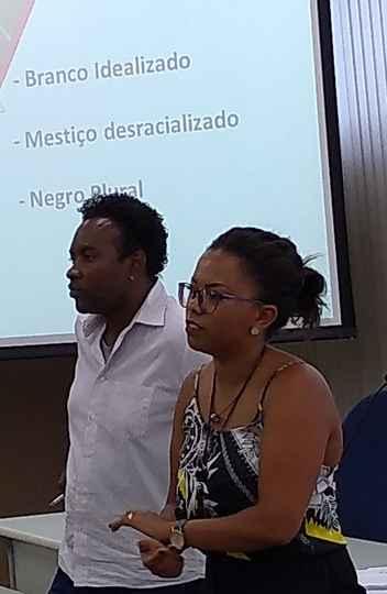 Rodrigo Ednilson e Daniely Fleury orientaram trabalho da comissão