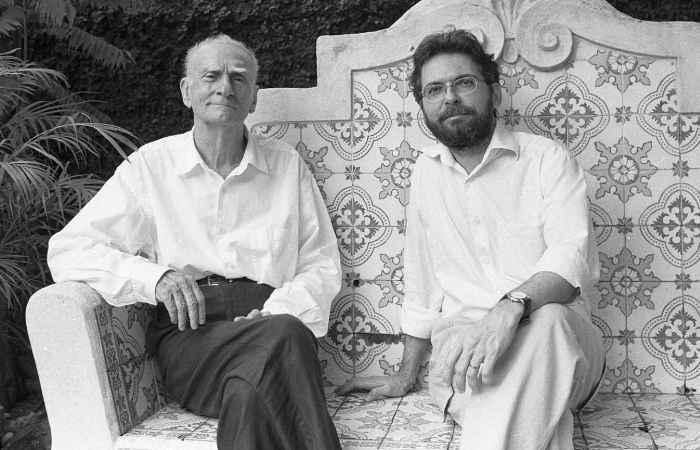 Ariano Suassuna e Carlos Newton Júnior