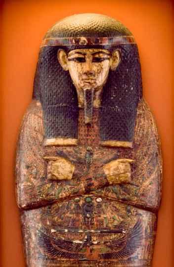 Coleção egípcia: Sarcófago do sacerdote Hori