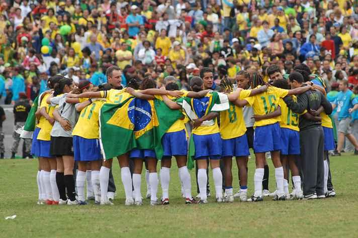 Equipe de futebol feminino nos jogos Pan-Americanos de 2012
