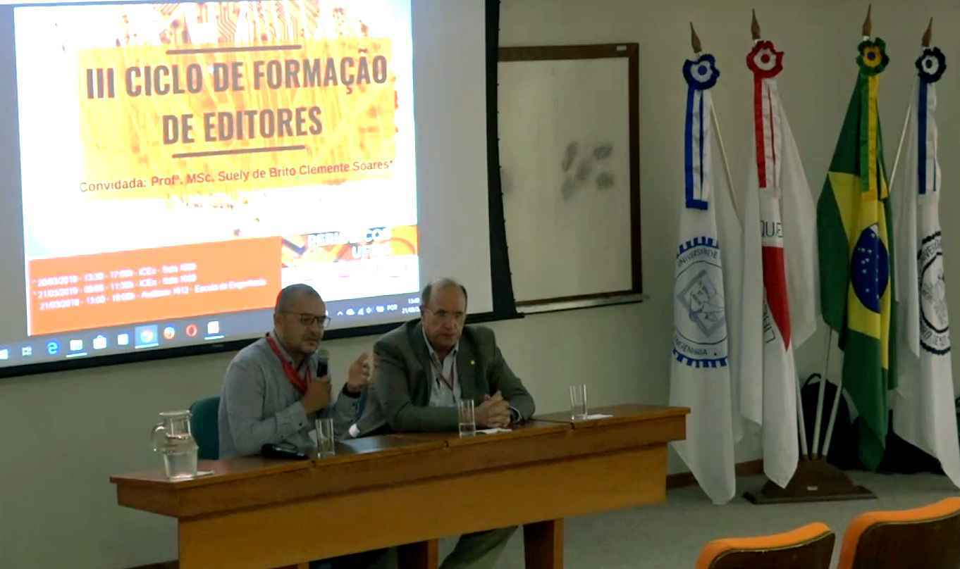 Evento reuniu equipes editoriais de publicações da UFMG