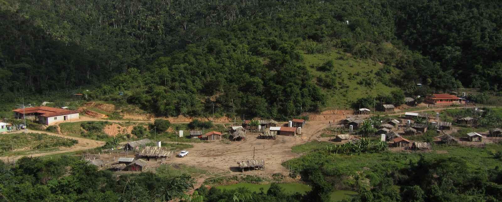 Alçdeia maxakali em Minas Gerais: