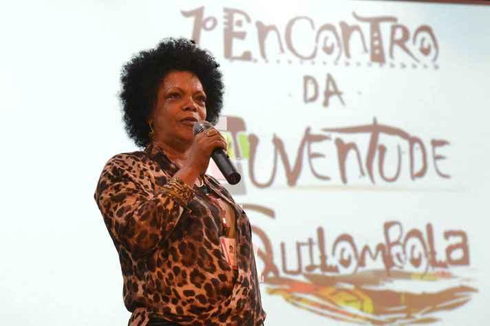 A Subsecretária de Promoção da Igualdade Racial dom Governo de Minas, Cleide Hilda