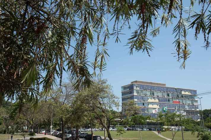 Reitoria no campus Pampulha da UFMG