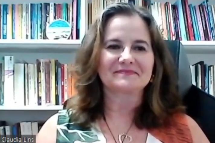 Professora Cláudia Lins Cardoso: entusiasmo, resiliência e cuidado