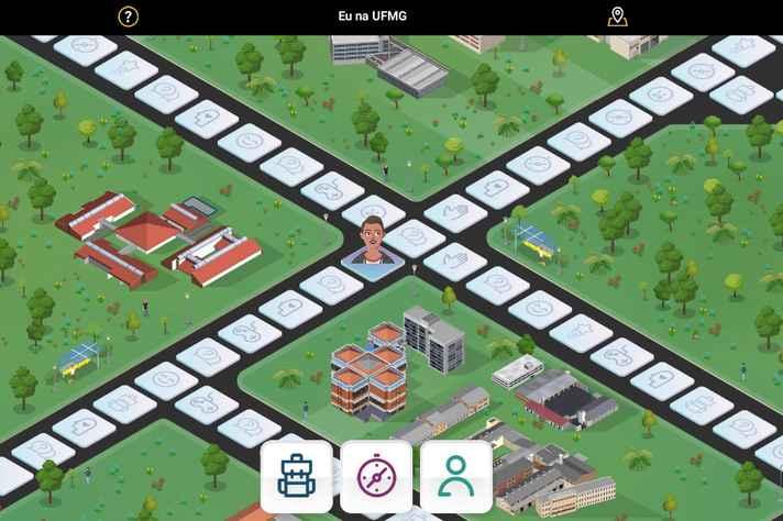 Eu na UFMG Game Virtual