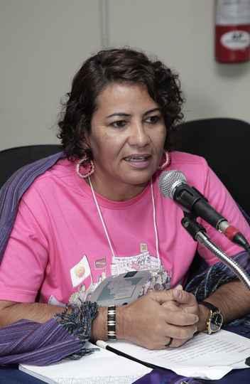 Veronica Santana, da Marcha das Margaridas