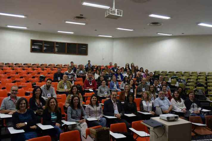 Aula inaugural do curso na UFMG em 2017