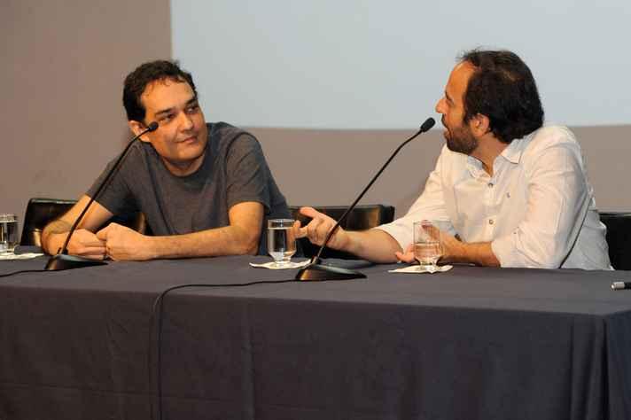 Bernardo Lima (à direita) e Jacques Fux: abordagens complementares
