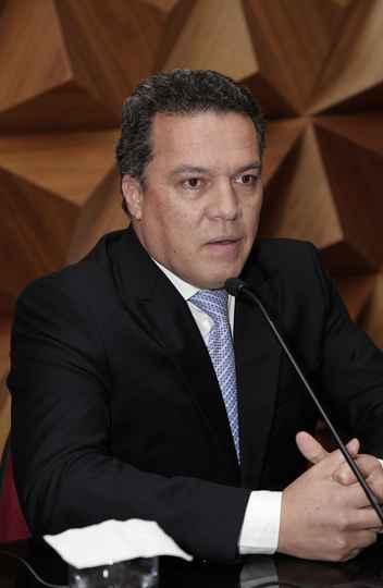 Jaime Ramírez, reitor da UFMG