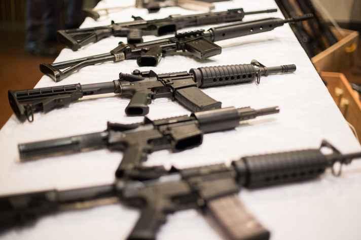 Armas apreendida em operação: Brasil tem cerca de 20 milhões de armas em circulação