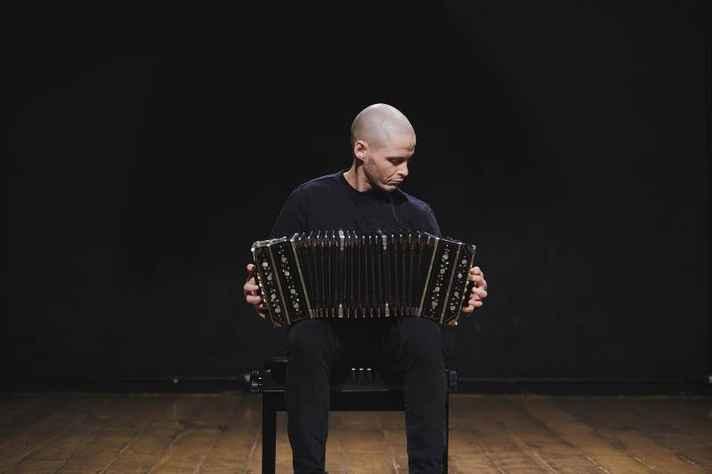 O bandoneonista Otto Hanriot