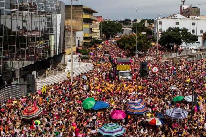 Balanço do carnaval em BH