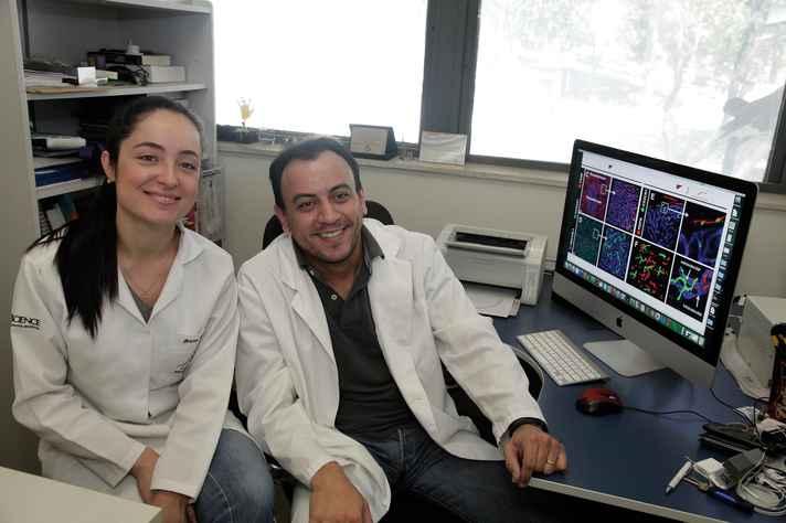 Bruna e Gustavo: combinação de sequenciamento gênico, cintometria de fluxo e imagem in vivo