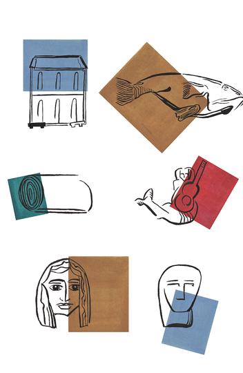Ilustração que compõe a identidade do festival é inventário de elementos do imaginário comum