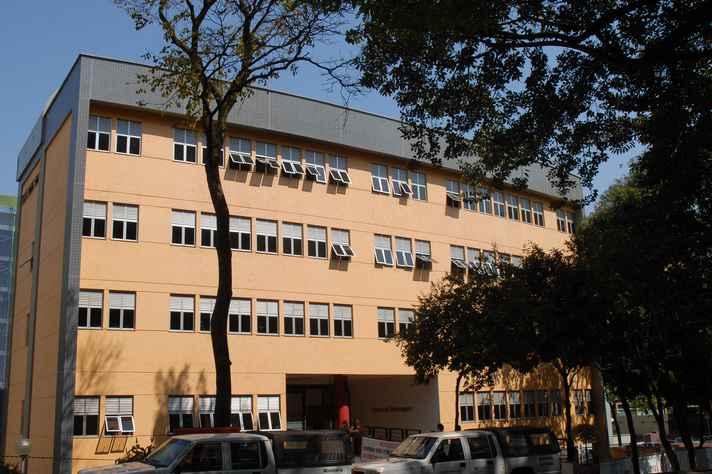 Escola de Enfermagem, no campus Saúde