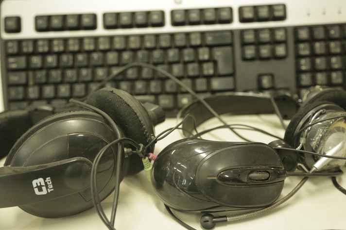 Eletroeletrônicos são recolhidos no campus Pampulha por empresa especializada em descarte correto