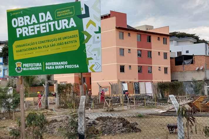 Obras na Vila São João Batista
