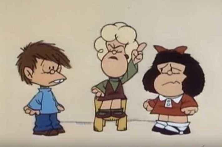 Cena censurada de 'Mafalda', de Carlos Marquéz, finalizado em 1981 e exibido somente em 1983