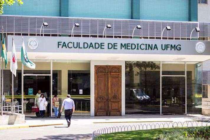 Prédio da Faculdade de Medicina, onde especialistas se reunirão para o 1º Encontro Imuno BH