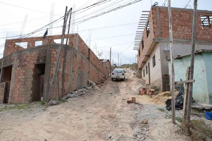 Ocupação no bairro Liberdade, na região da Pampulha