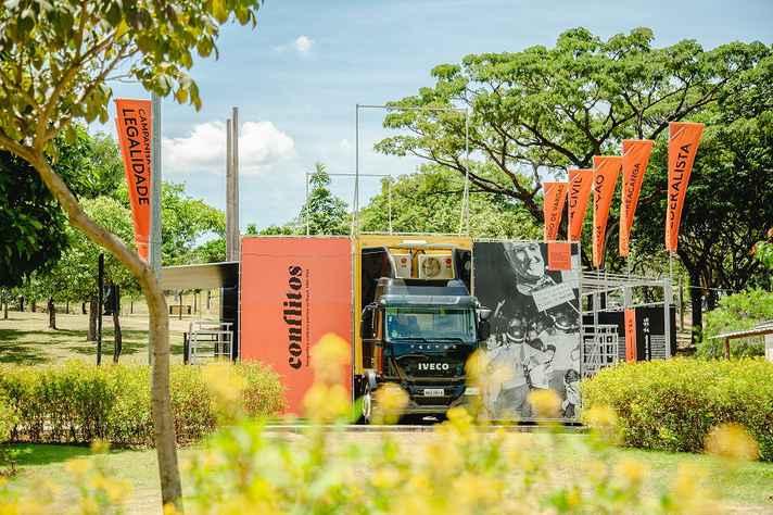 Caminhão-museu