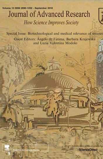 O Journal of Advanced Research dedicou uma edição especial de sua revista científica a estudos sobre a urease