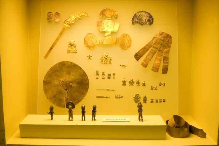 Arqueologia americana: Ouro andino